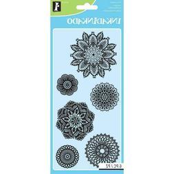 Inkadinkado 60-31316 Decorative Doilies Clear Stamp Set_60-3