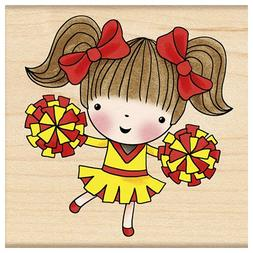 Penny Black Decorative Rubber Stamps, Cheerleading Mimi