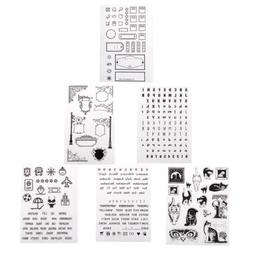 Decorative Silicone Clear Rubber Stamps DIY Scrapbook Card P