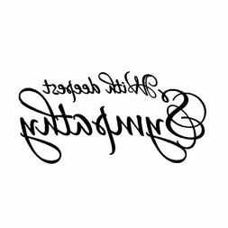 With Deepest Sympathy - UNMOUNTED rubber stamp, fancy script