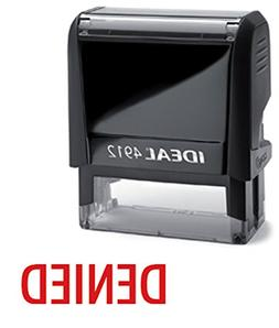 denied red office self inking