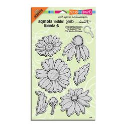 New Stampendous DIE AND Rubber STAMP Set POP UP BUILD A DAIS