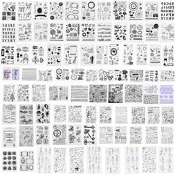 Die SiliconeTemplate Stamp DIY Album Scrapbooking Cutting De