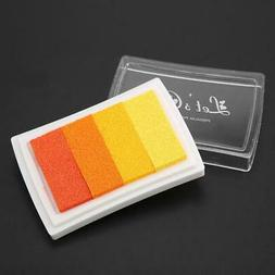 Durable Watercolor DIY Ink Pad for Rubber Stamp Scrapbook De