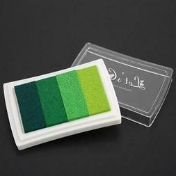 Practical Plastic Watercolor DIY Ink Pad for Rubber Stamp Sc