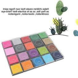 DIY Multi Color Ink Pad Stamp Inkpad Rubber Stamp Scrapbook