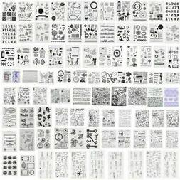 DIY Silicone Clear Stamps Transparent Rubber Stamp Scrapbook