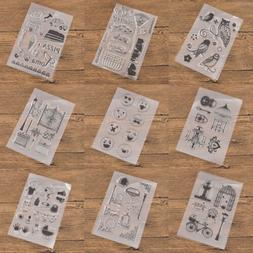 diy transparent rubber stamp seal paper craft