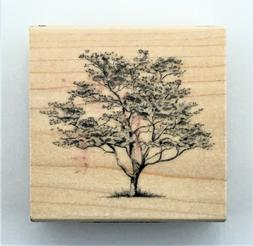 DOGWOOD TREE Inkadinkado 01273 NEW rubber stamp