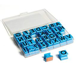 """Educational Insights Alphabet Rubber Stamps - Uppercase 5/8"""""""