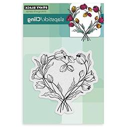 Penny Black 40-280 Entwined Sheet Cling Rubber Stamp, 4 by 6