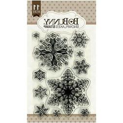 Essentials Stamps 4x6-Snowflakes Item L-1