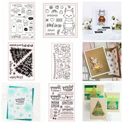 Fashion Rubber Stamp Seal Handcrafts Stencil Scrapbooking Al