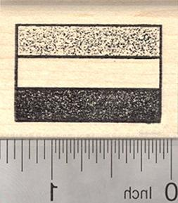 Flag of Hungary Rubber Stamp, Netherlands
