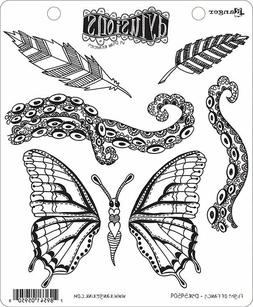 Ranger Flight of Fancy Dyan Reaveleys Dylusions Cling Stamp Collections 8.5x7