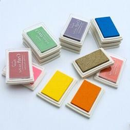 Rubber Stamps Decorative Craft Ink Pad Pigment For Notebook