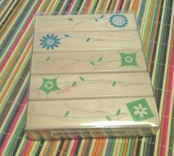 Hero Arts Graphic flowers rubber stamp set  2007