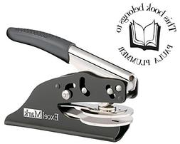 ExcelMark Hand Held Embosser - This Book Belongs to - Style