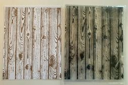 Hardwood Floor Clear Rubber Stamp Woodgrain Fence Wood