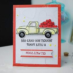 Harvest Pickup Truck Transparent Stamp Clear Stamps for DIY