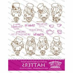 HATTERS KIT-The Greeting Farm Rubber Stamp-Stamping Craft-Wo