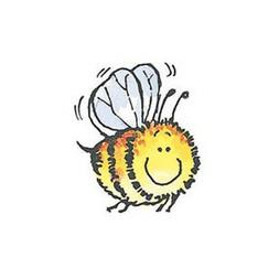 New Penny Black HONEY Wood Rubber Stamp Bee Insect Animal Fr