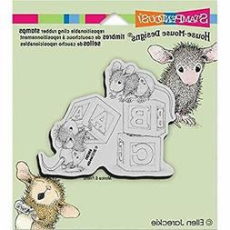 Stampendous House Mouse Cling Rubber Stamp, 5.5 by 4.5-Inch,