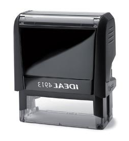1 X Ideal 100 Self Inking Rubber Stamp