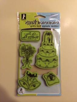 InkadinkaClings Rubber Stamps That Cling On Your Wedding Ink