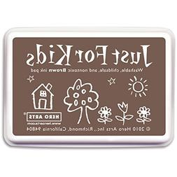 Hero Arts Rubber Stamps Just for Kids, Brown