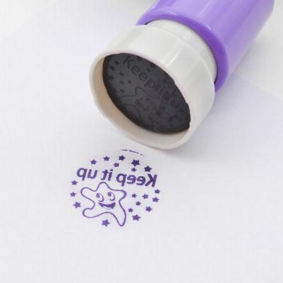 1PC Teacher Stamp Self Inking Comment Homework Reward