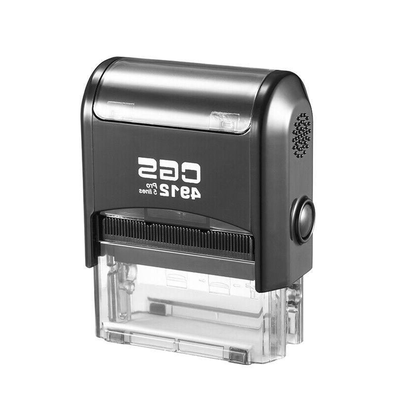 CGS4912 Personalized Address Self Stamp+one ink pad