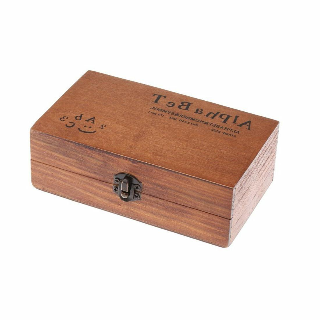70pcs Vintage And Rubber Box