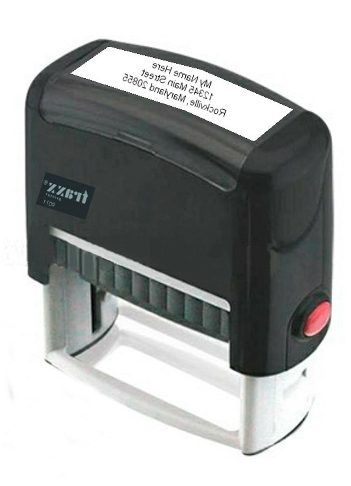 Custom Inking Rubber Stamp Line