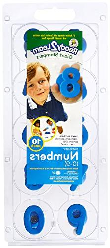 CENTER ENTERPRISES INC. CE-6732 READY2LEARN GIANT NUMBERS 09