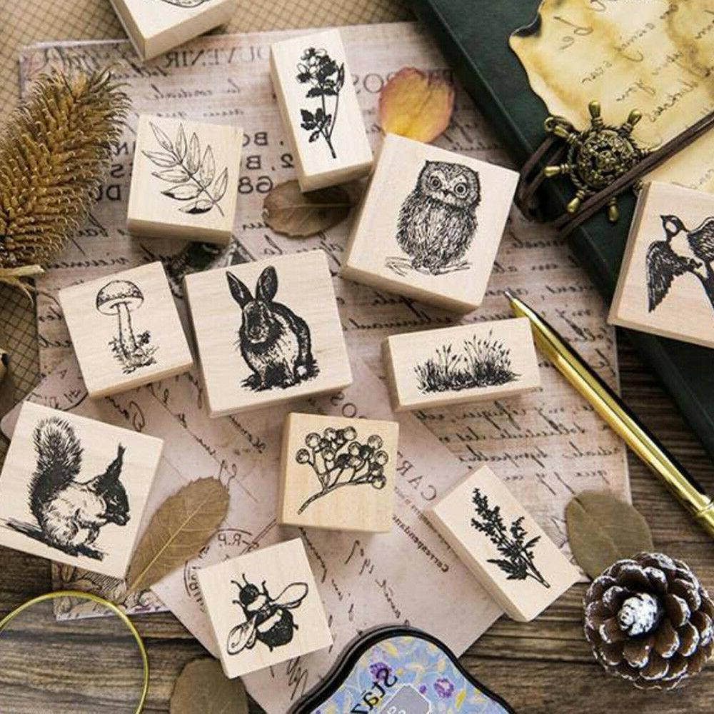 Animal Stamps For Scrapbooking DIY Craft