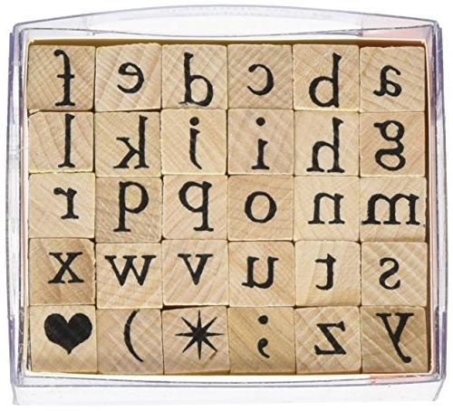 arta60 stamps set alphabet lower