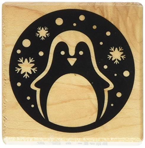 arthe688 wooden stamp e penguin