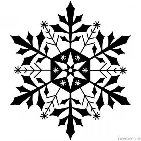 arthf689 wooden stamp f snowflake