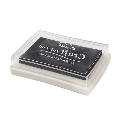 black ink pad inkpad rubber