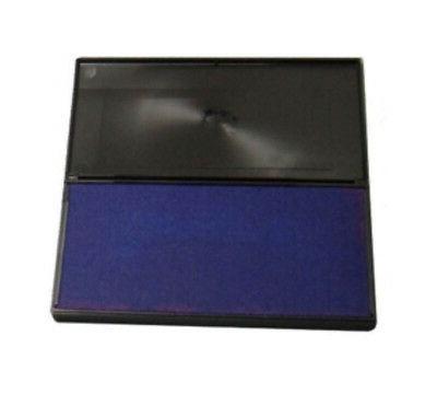 blue rubber stamp felt ink