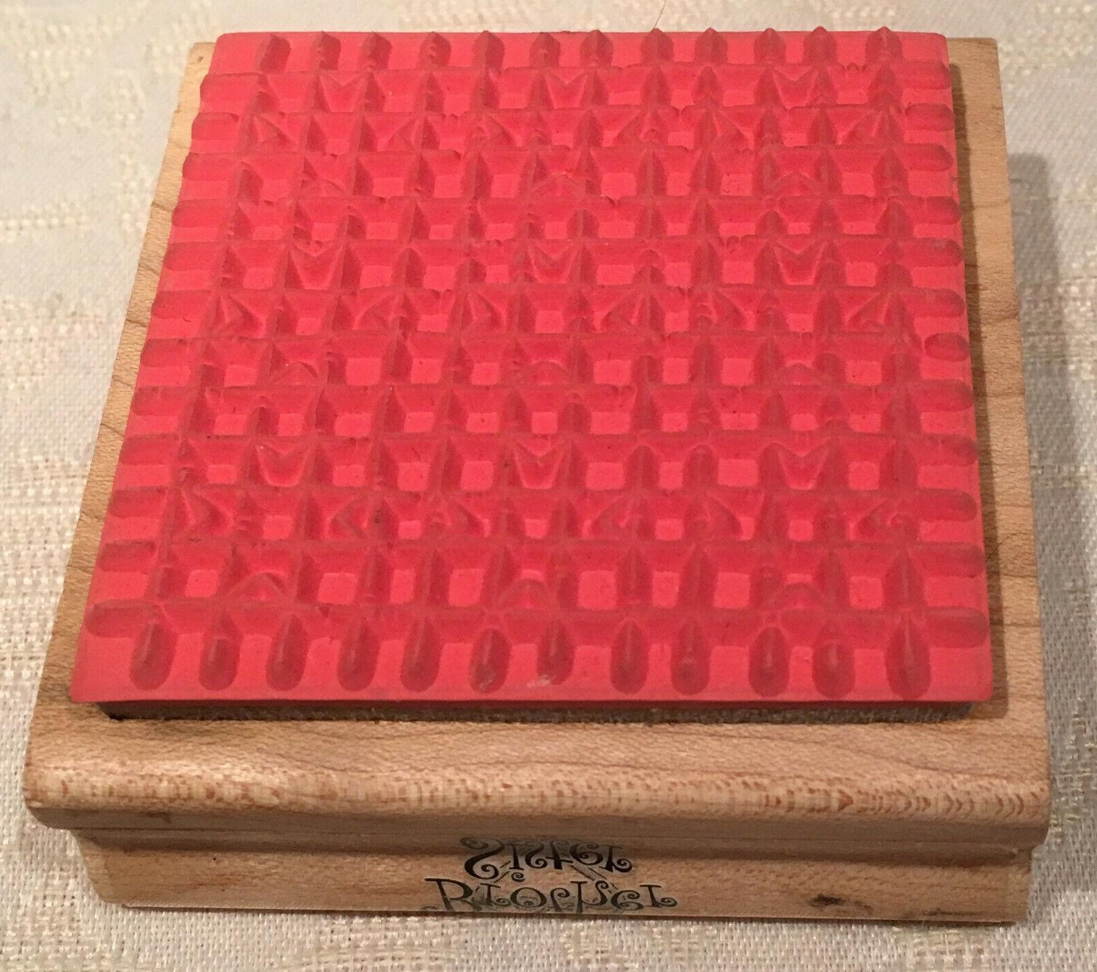 """Wood Mount Rubber Stamp 2.5"""""""