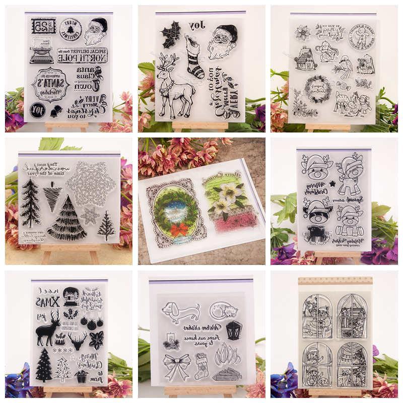 Christmas Transparent Scrapbooking