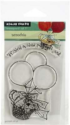 """Penny Black Clear Stamps Airborne 3""""X4"""" 759668305773"""