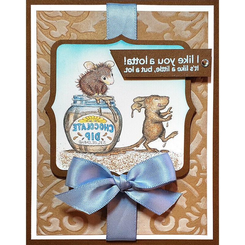 Stampendous cling stamp - -