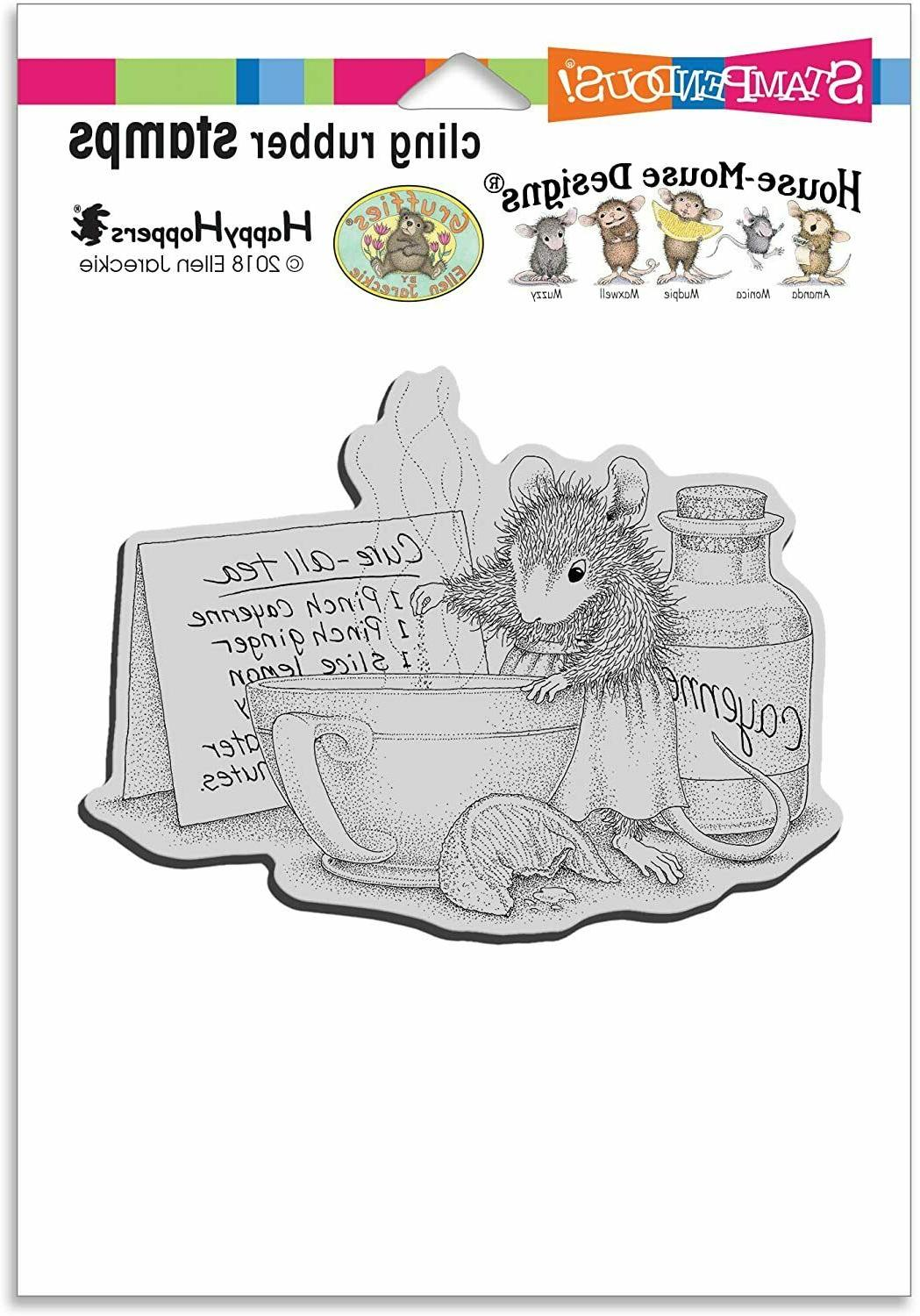 Stampendous cling stamp - CURE