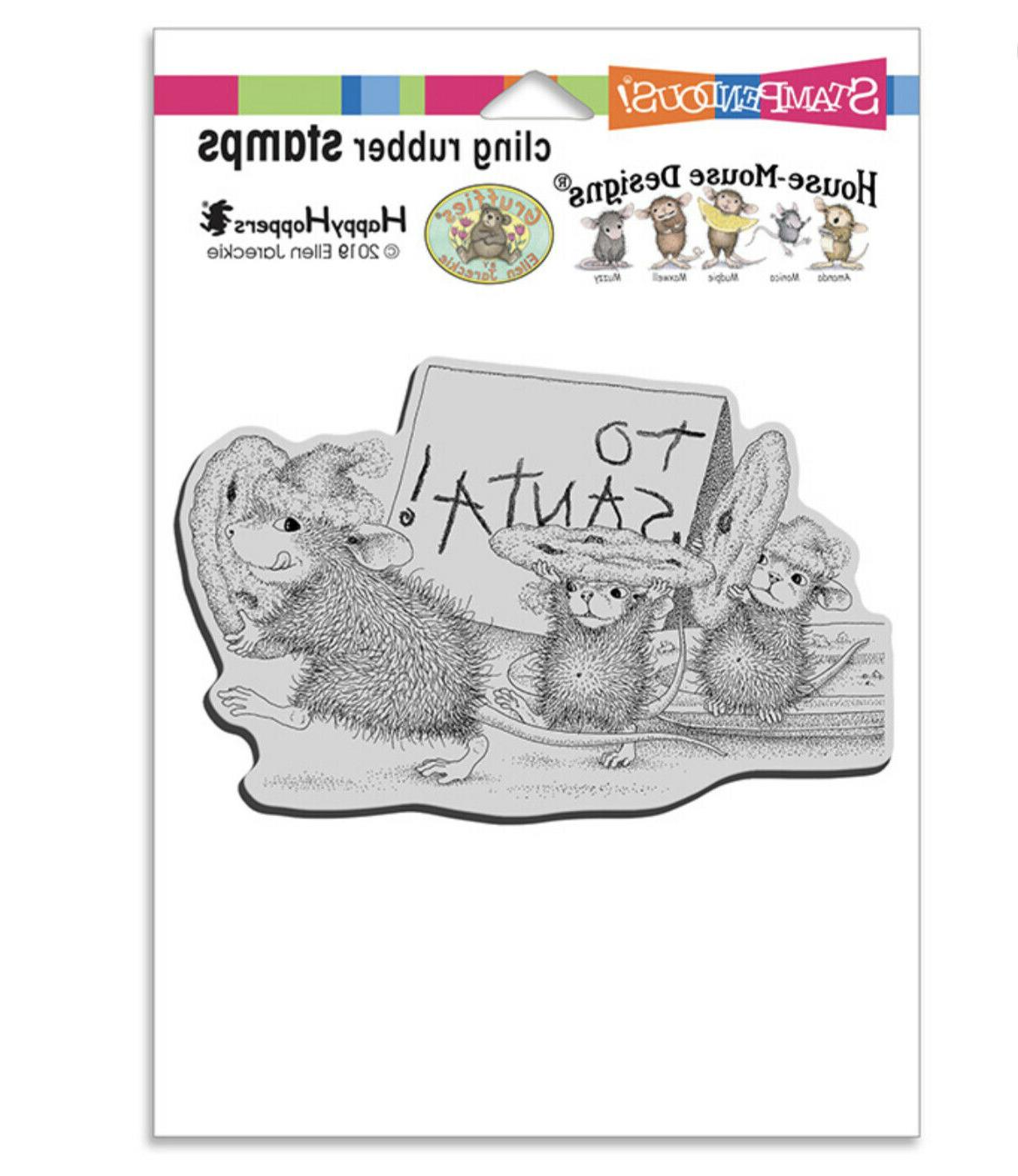 Stampendous cling mounted stamp -