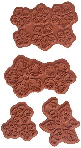 "Heartfelt Creations Cling Rubber Stamp Set 5""X6.5""-Classic R"