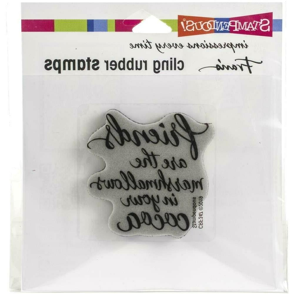 Stampendous Cling Set Marshmallow Friends