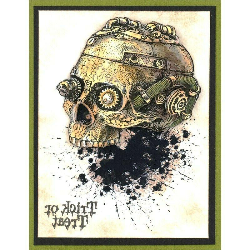 Stampendous Cling Rubber Steampunk